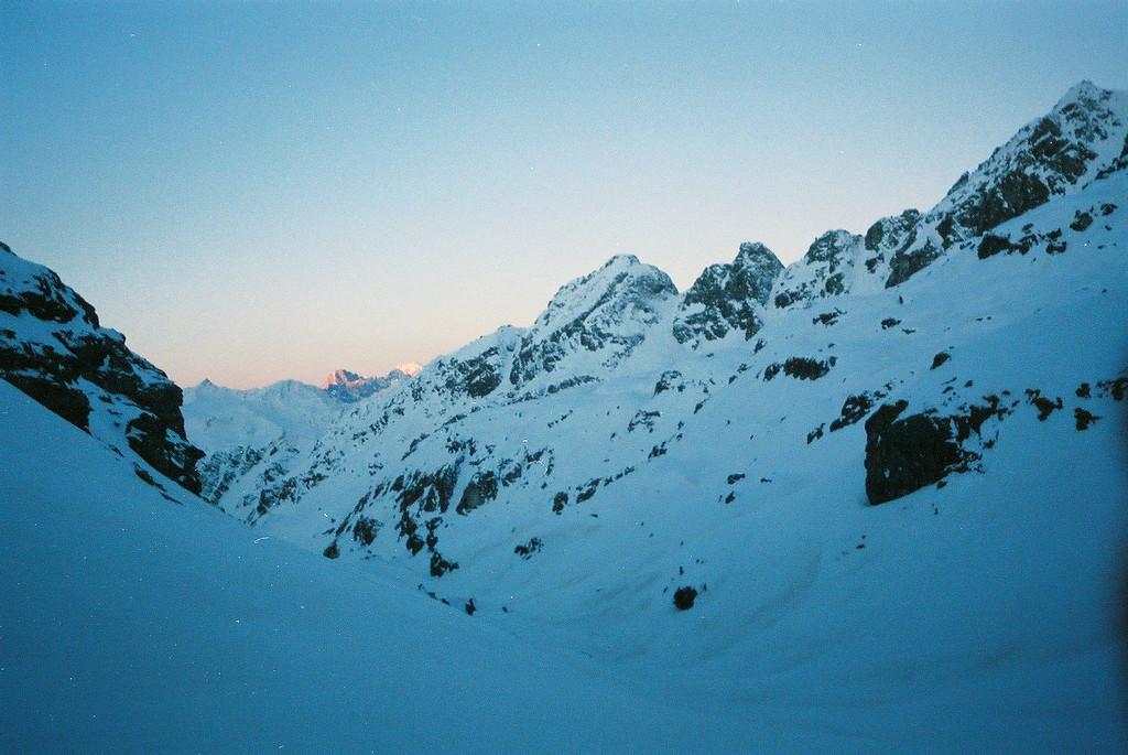 Day 3 003 Sunrise on Mont Blanc