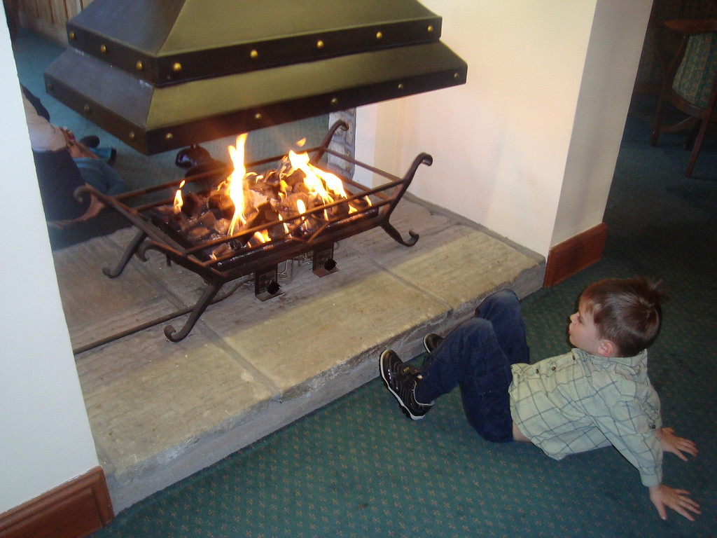 038 Enjoying the Fire