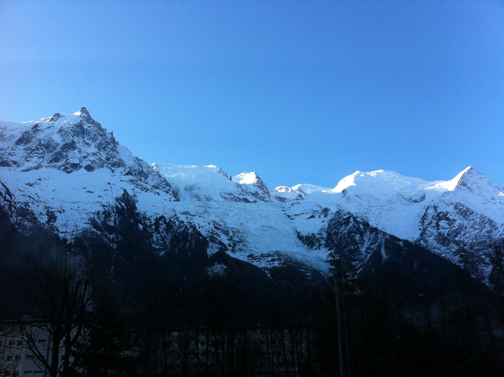 We spent Easter weekend in Chamonix - always spectacular
