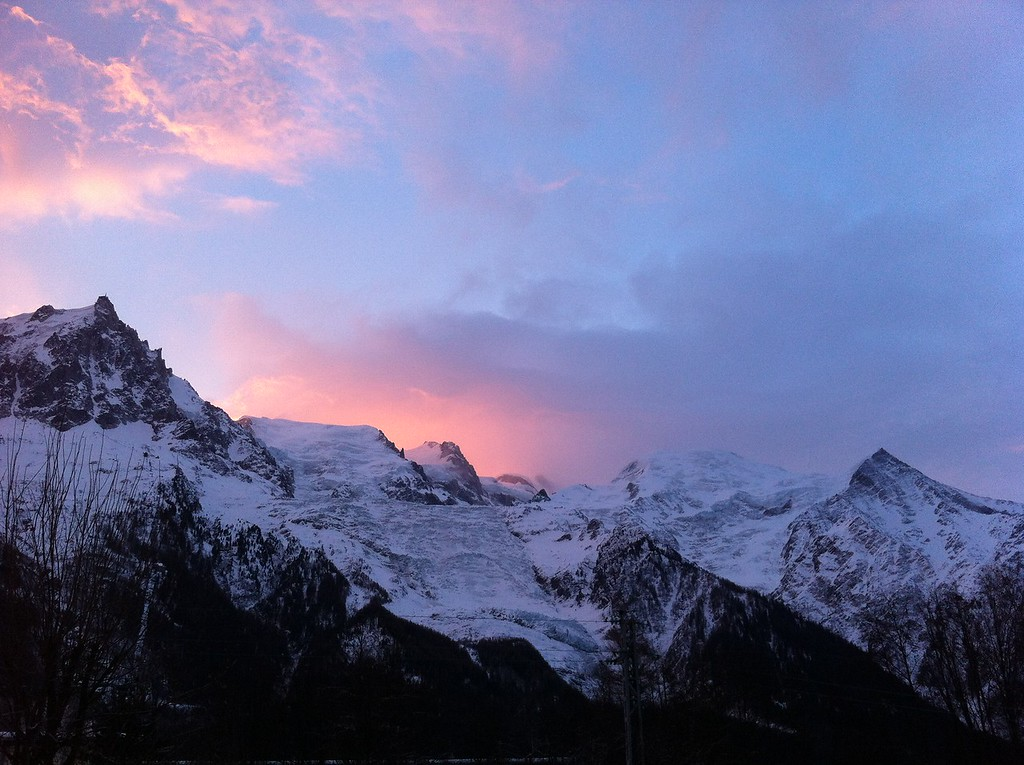 114 Sunrise on Mont Blanc