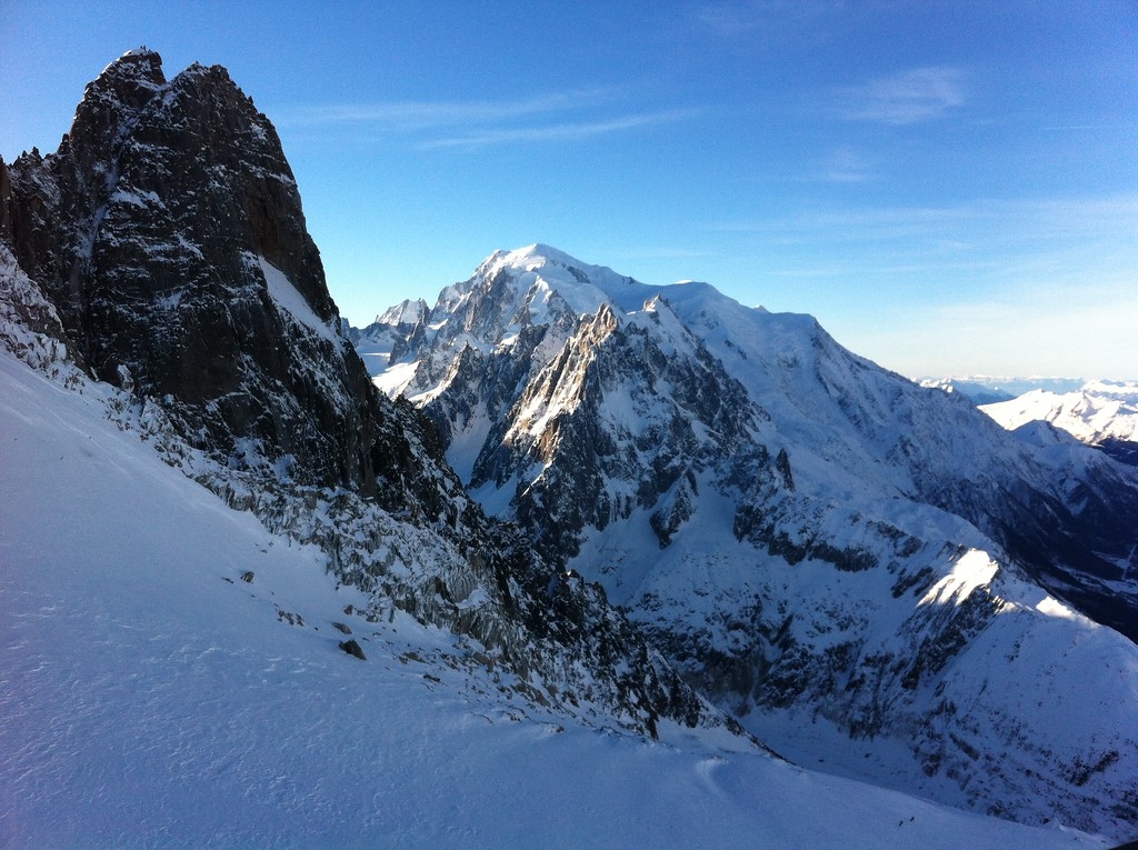 093 Dru & Mont Blanc