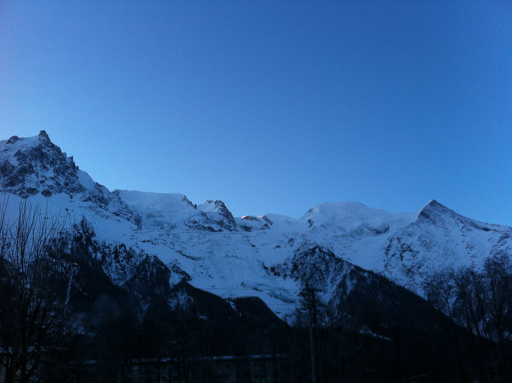 019 Sunrise on Mont Blanc