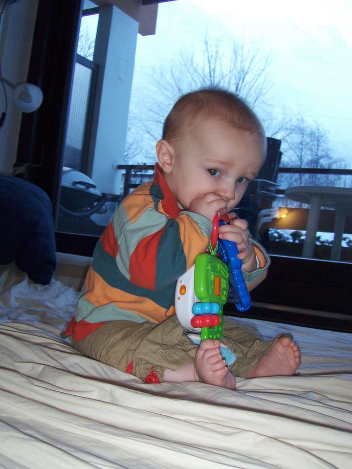 178 Danny Enjoying his New Toy