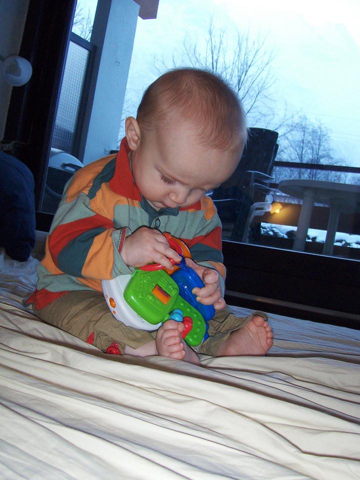 179 Danny Enjoying his New Toy