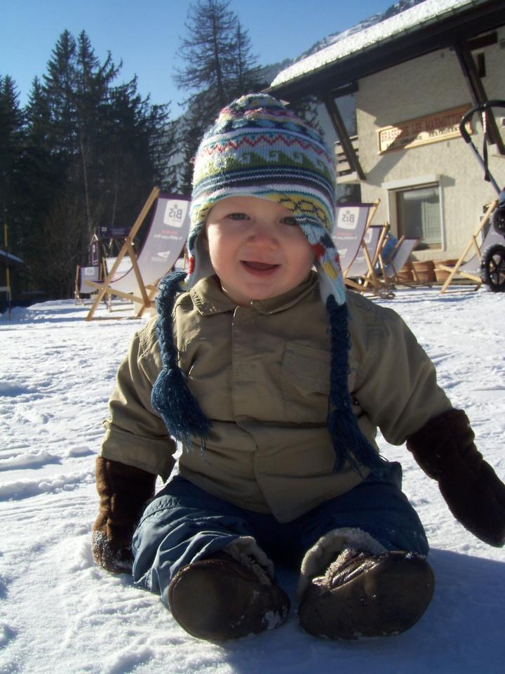 194 Enjoying the Snow