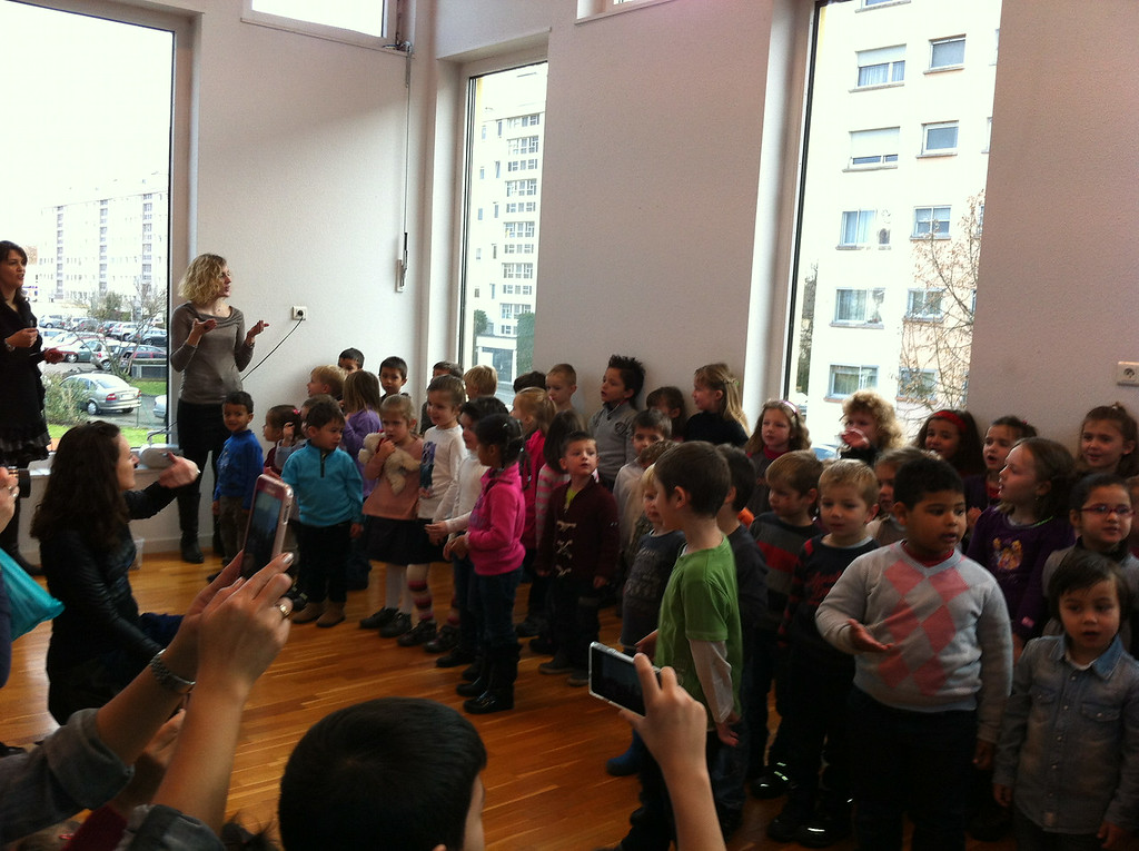 Danny's school do a little Christmas concert