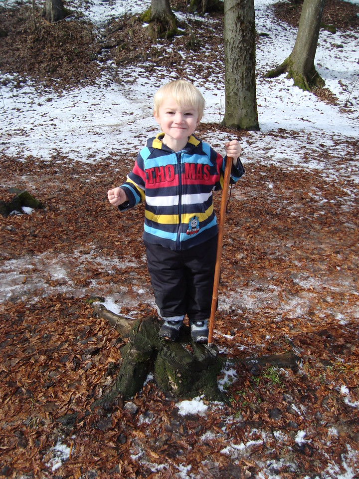 049 Danny Winter Hiking