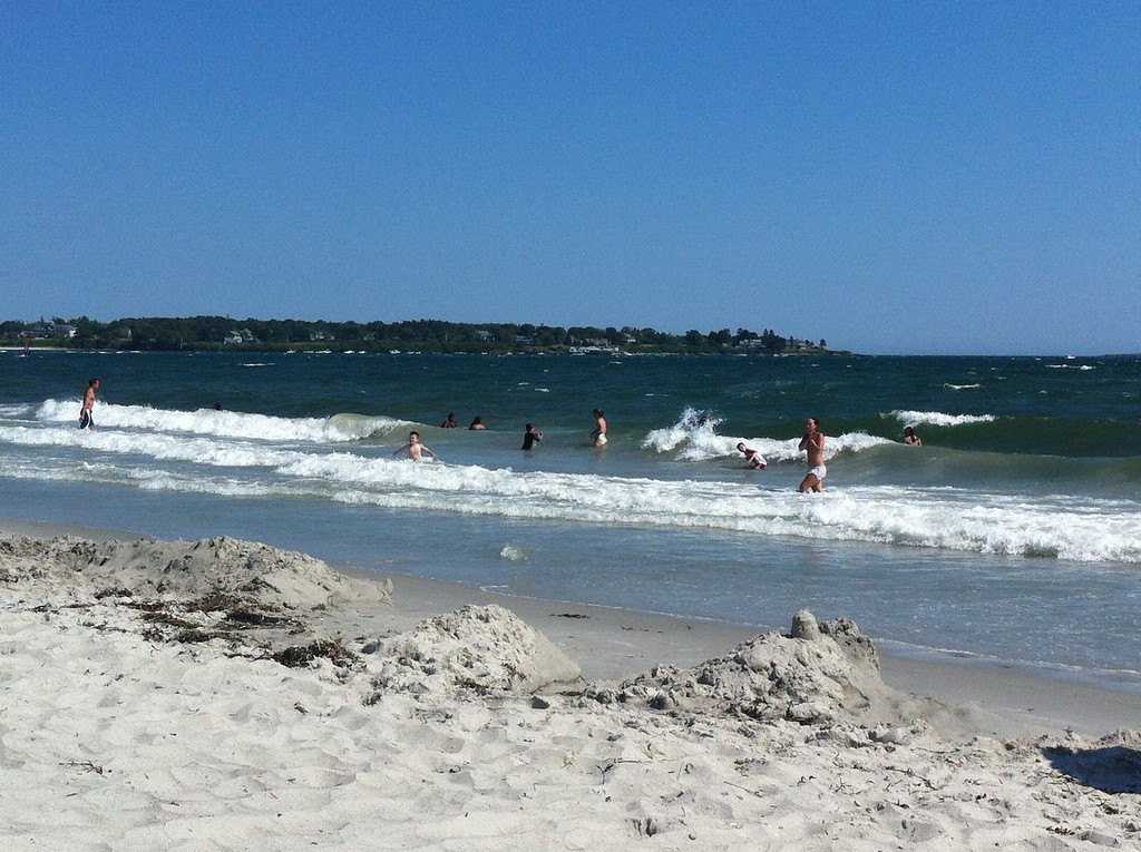 186 Enjoying the Surf