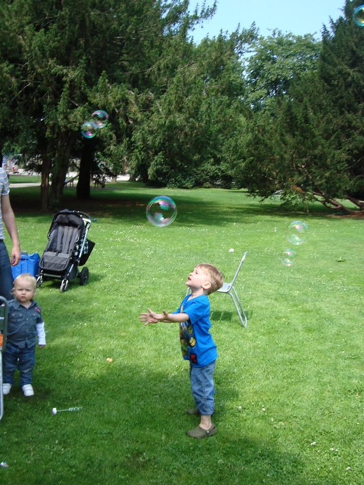 058 Jack Enjoying the Bubbles