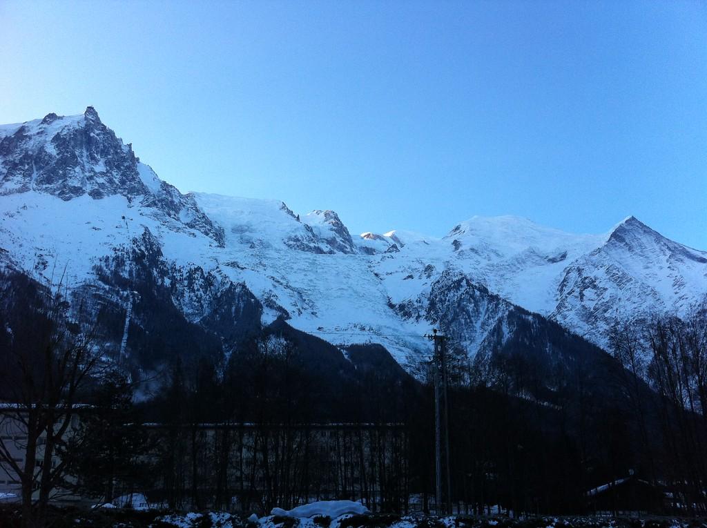 Sunrise on Mont Blanc