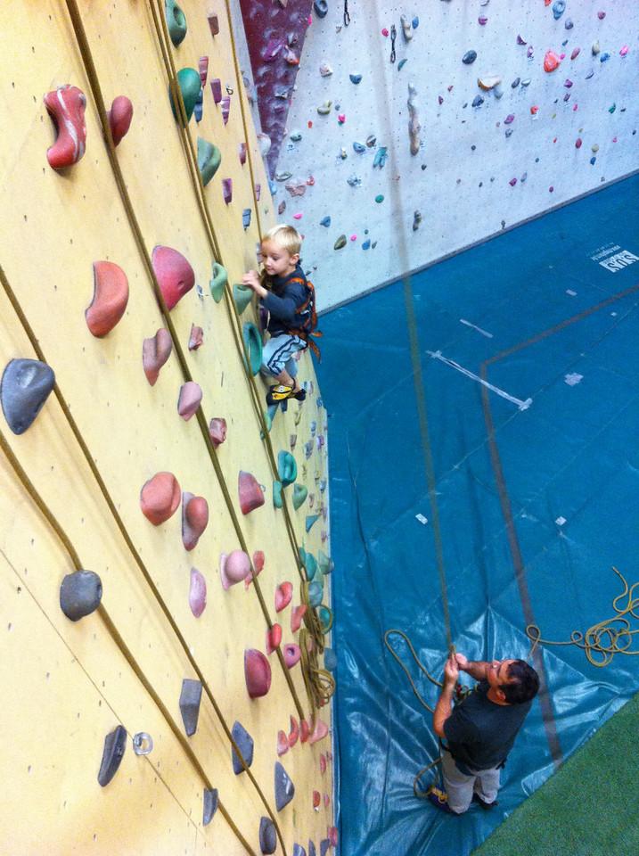 054 Climbing high