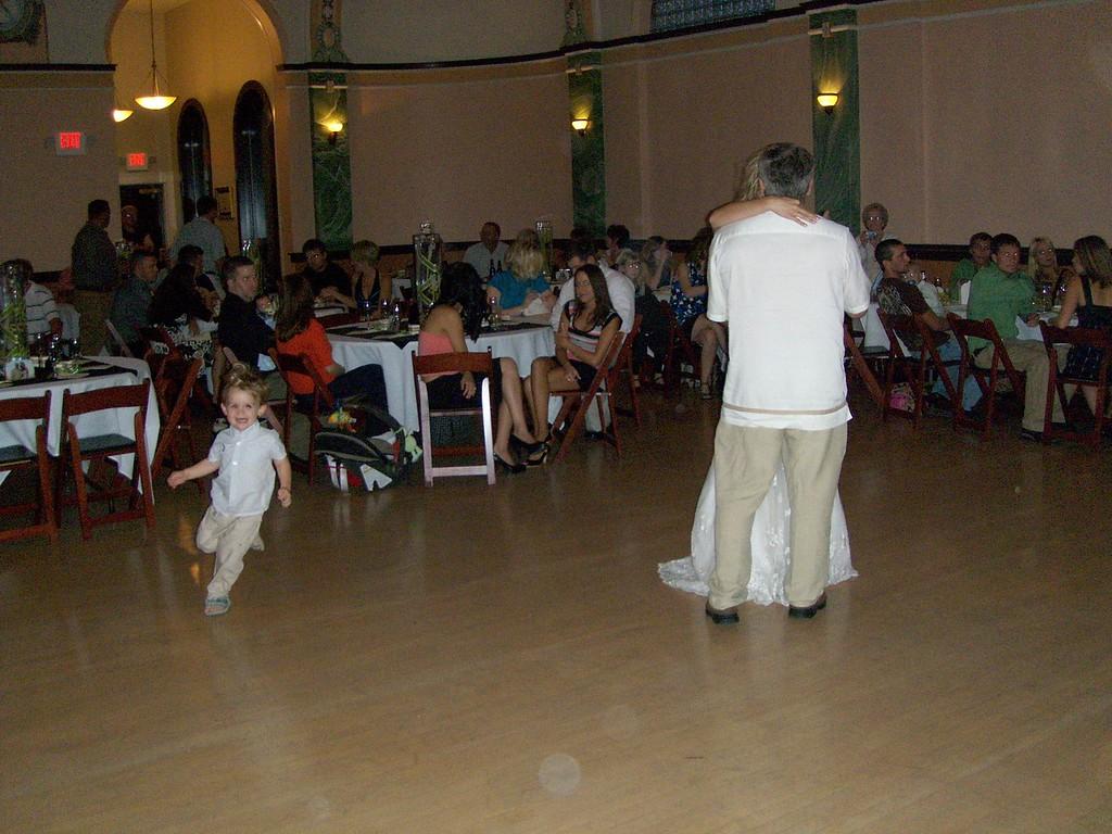 172 Jack Enjoying the First Dance