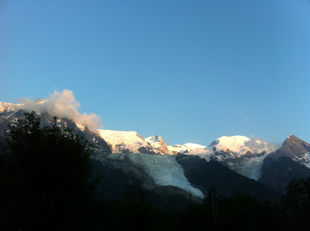 Arrived in Chamonix